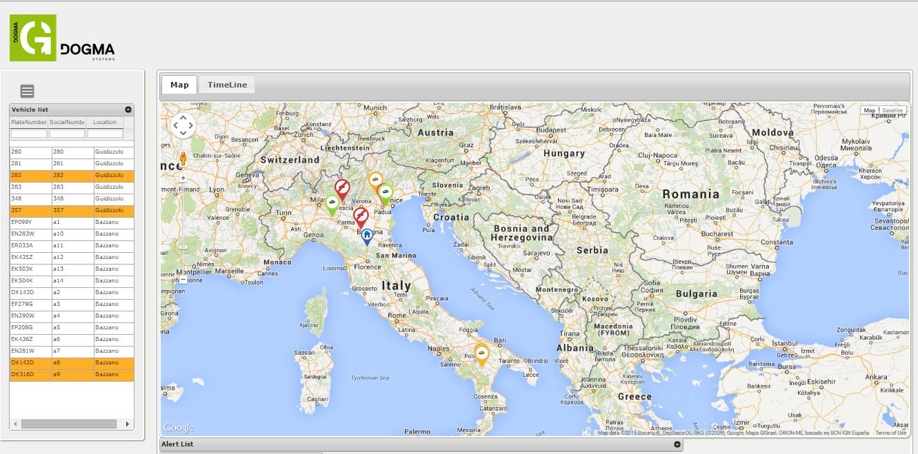 Tracker GPS reale tempo Dogma Guardian