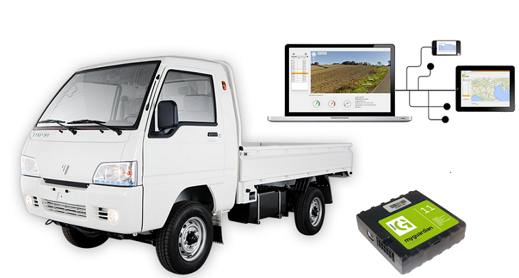 minitruck-gps tracking