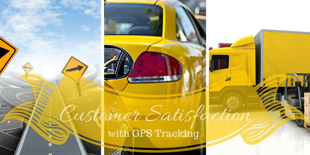 GPS tracking for Customer Satisfaction