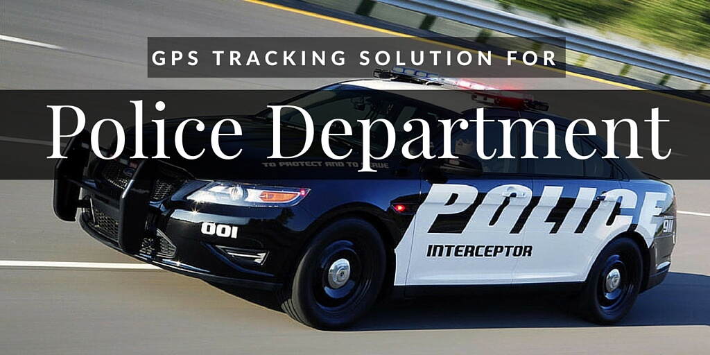 GPS for Police Department